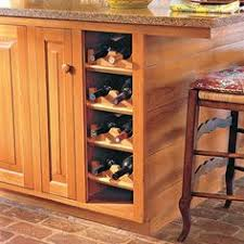 custom touches for small kitchens wine rack kitchen essentials