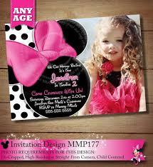 101 best pink polka dot minnie mouse birthday invitations u0026 party