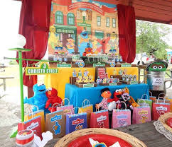Birthday Candy Buffet Ideas by 38 Best Sesame Street Candy Table Ideas Images On Pinterest