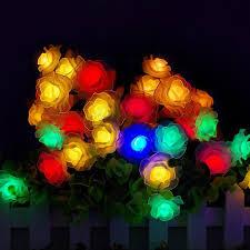 novelty romance 100 led rose flower string lights 10m fairy