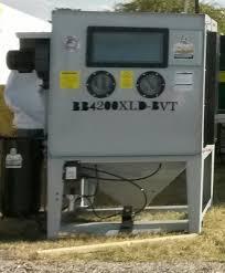 Used Blast Cabinet Wheel Sand Blasting Cabinet Bb4200xld Bvt Wb Is An Abrasive