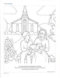 lds coloring pages i can be a good exle best photos of going to church coloring pages going to church lds
