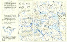 Map Maine Canoewilds Com