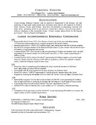 American Resume Example by Professional Resume Sample