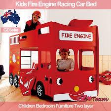 Cars Bunk Beds Bunk Beds Engine Racing Car Bed Children Bedroom