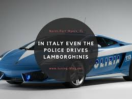 police lamborghini in italy even the police drives lamborghinis tuning blog