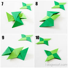 origami thankful ornaments one woof