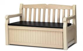 White Storage Bench 10 Functional Outdoor Storage Benches Rilane