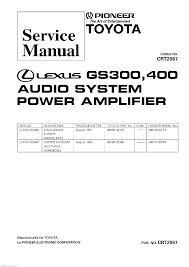 pioneer deh 2000r 2030r 2020r sm service manual download