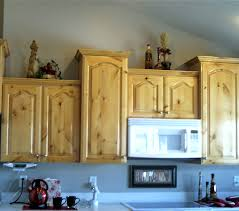 Kitchen Cabinet Finish Refinished Knotty Alderwood Cabinets