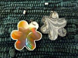recycled cd earringscr aft craft to make making a craft