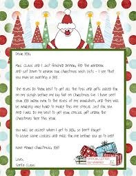 official letters from santa letters from santa templates lisamaurodesign
