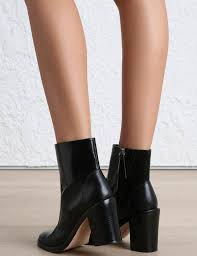 zimmermann welted dress boot in black lyst