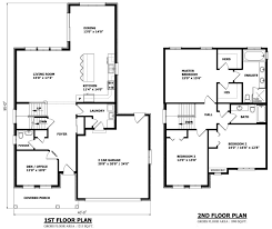 Home Floor Plans Canada | small bungalow floor plans canada home deco craftsman one story