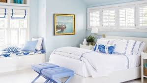 ideas for blue bedrooms coastal living
