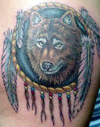 wolf dreamcatcher pics the best tatto 2017