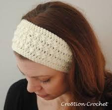 crocheted headbands free crochet headband ear warmer pattern sleek and