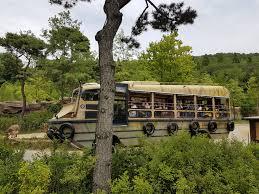 Six Flags Shuttle Bus Travel Seoul Korea Day 5 Hanbok Experience Everland Gangnam