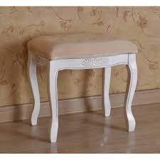 Bathroom Vanity Chair With Back Restoring White Vanity Stool Bedroom Ideas