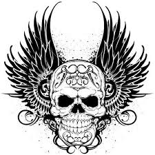36 best skull with wings tattoo designs images on pinterest wing