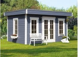 bureau de jardin en kit chalet bois en kit une pièce à vivre au jardin abris
