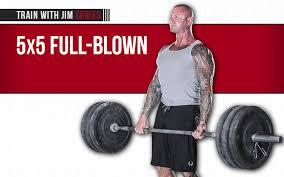 5x5 Bench Press Workout 5x5 Full Blown