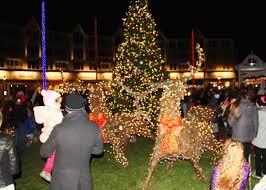 Hundreds Enjoy Long Branch Tree Lighting Wordontheshore