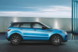 range rover blue range rover evoque landmark edition celebrates sales success by
