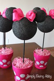 minnie mouse theme party minnie mouse centerpiece decorations simply being abby