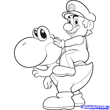charming images of mario brothers colouring pages 2 how to