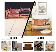 Leather And Wood Chair 35 Awesome Ways To Give New Life To Old Furniture