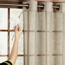 sheer curtains for sliding glass doors decorate the house with