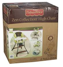 Wooden High Chair For Sale Amazon Com Fisher Price Zen Collection High Chair Childrens
