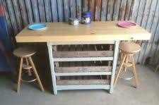 kitchen island breakfast bar ebay