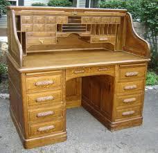 Oak Crest Desk Winners Only Oak Roll Top Desk Winners Only Oak Roll Top Desk