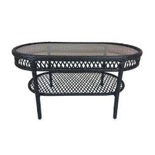 Chateau Patio Furniture Impressive Oval Outdoor Coffee Table Hanamint Outdoor Furniture