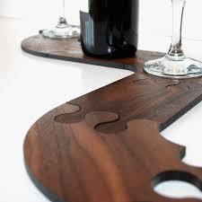 Table Jigsaw Walnut Wood Jigsaw Table Trivet By Wood Paper Scissors