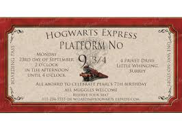 harry potter party invitations cloveranddot com