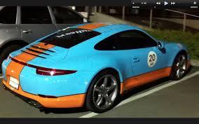 gulf porsche 911 gulf porsche 911 991 in montreal