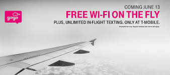 Aa Flight Wifi by T Mobile Introduces Free Wi Fi On Gogo Equipped Airlines
