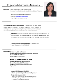 Resume Sample Doc Philippines by Sample Resume Doctor Philippines Augustais