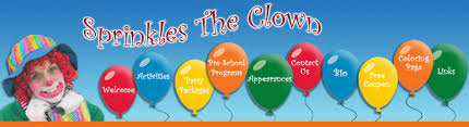 clown for birthday party nj sprinkles the clown morris county hunterdon county somerset