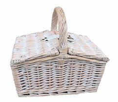 gift large wicker basket with lid gift large wicker basket with