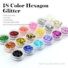 new supernova sale 3d nail decorations 1mm hexagon glitter