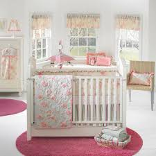 Pink Round Rug Nursery Bedroom Spacious Baby Room Using Round Baby Pink Rug For Nursery