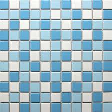buy swimming pool tiles ceramic mosaics white blue backsplash tile