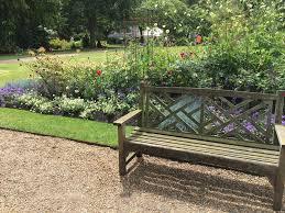 Garden Bench With Trellis 2016 August Indira Ganesan