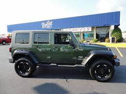 2007 green jeep wrangler jeep wrangler unlimited 2007 green suv gasoline 6 cylinders