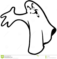 halloween ghost cartoon design vector clipart stock vector image