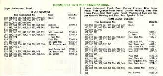 interior paint codes for 1966 442 red interior classicoldsmobile com